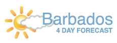 Barbados Four Day Forecast